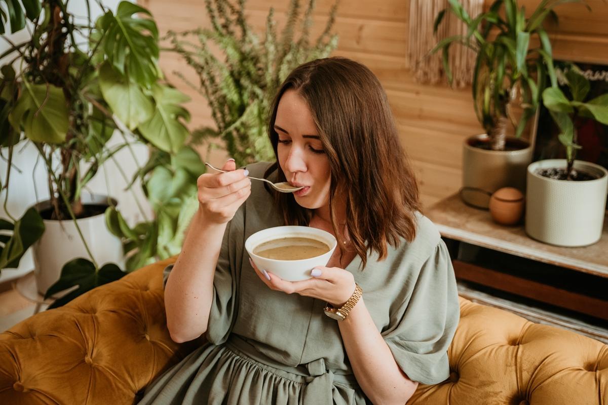 zupa o smaku batatów